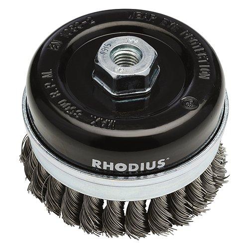 RHODIUS STBZ − Stahl-Topfbürsten für den Schiffbau und den Einsatz auf Winkelschleifern