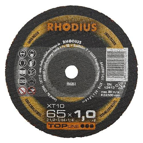 RHODIUS XT10 MINI − Trennscheibe 1 mm für den Geradschleifer