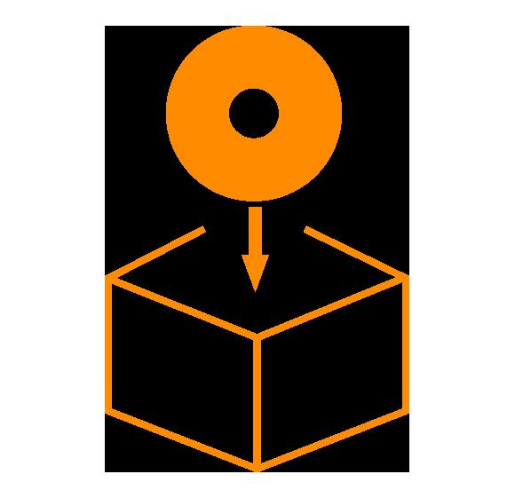 Skizze - Schleifwerkzeuge für Privat Label, Verpackungen