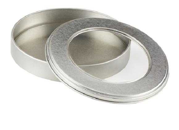 RHODIUS Abrasives for Private Label - tin box neutral
