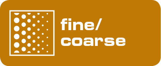 Icon - Körnung bei Schleifborsten mit Aluminiumoxyd oder Siliziumcarbid