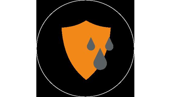 Grafik, USP Schutz vor Feuchtigkeit