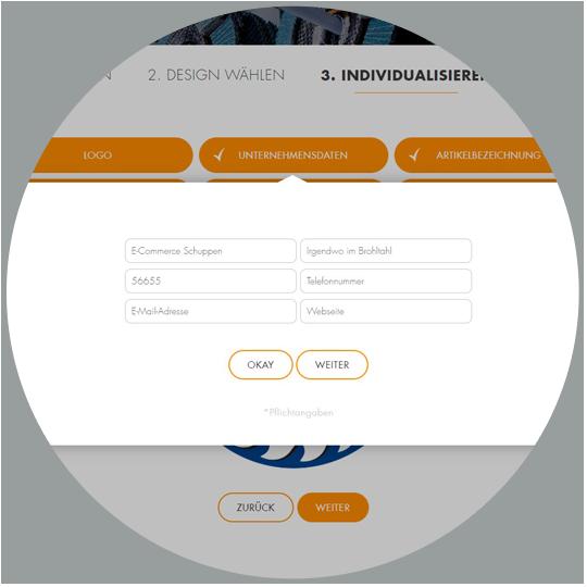 RHODIUS Schleifwerkzeuge für Private Label - Screen individualisieren