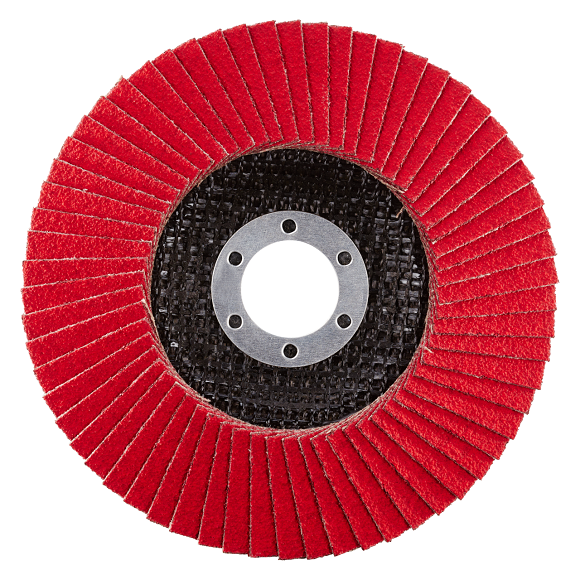 JUMBO SPEED EXTENDED - Flap disc with ceramic grain